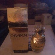 Miniaturas de perfumes antiguos: MINIATURA CHAMPAGNE VAPORIZADOR SAINT LAURENT. Lote 278294208
