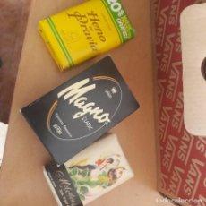 Miniaturas de perfumes antiguos: JABON LOTE DE 3. Lote 278681563