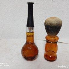 Miniaturas de perfumes antiguos: ANTIGUAS BOTELLAS DE COLONIA, UNA DE ELLAS ESTA LLENA!. Lote 280112663