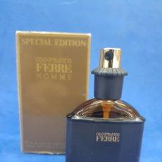 Miniaturas de perfumes antiguos: GIANFRANCO FERRE HOMME , 30ML VAPO. Lote 280575863