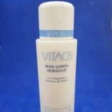 Miniaturas de perfumes antiguos: VITACEL ,BODY MILK 400ML ,TOKALON ,AÑOS 1980. Lote 280577548
