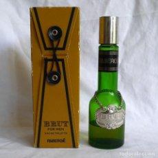 Miniaturas de perfumes antiguos: FRASCO DE COLONIA FABERGÉ 100 ML, CONTENIDO INCOMPLETO. Lote 285764548