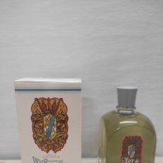 Miniaturas de perfumes antiguos: COLONIA FLOR DE BLASON MYRURGIA. 230 ML. EN SU CAJA ORIGINAL. SIN USO. Lote 289823313