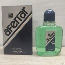 Miniaturas de perfumes antiguos: AFEITAR DE MYRURGIA ESPAÑA. AFTER SHAVE 120ML.SIN USO. Lote 289824343