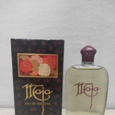 Miniaturas de perfumes antiguos: MAJA EAU DE TOILETTE MYRURGIA. 200ML. NUEVA. Lote 289828513