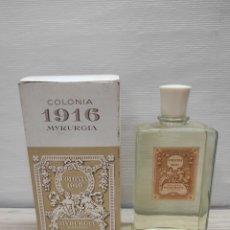 Miniaturas de perfumes antiguos: COLONIA 1916 MYRURGIA N 552. Lote 289829758