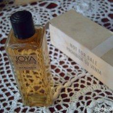 Miniaturas de perfumes antiguos: ANTIGUA, ORIGINAL COLONIA JOYA 60 ML. PROBADOR. A ESTRENAR, EN PERFECTO DE USO. Lote 295488483