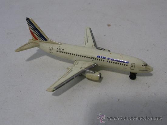 AVION AIR FRANCE - BOEING 737 (7CM APROX, 30G APROX) (Juguetes - Modelismo y Radiocontrol - Diecast)