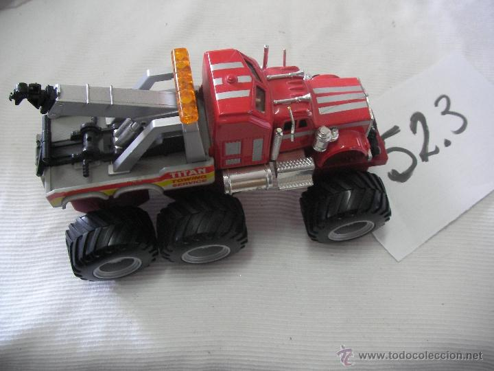 Hobbys: SUPER CAMION GRUA TITAN - ENVIO GRATIS A ESPAÑA - Foto 2 - 50635285