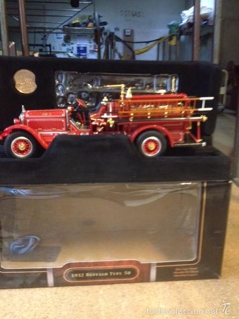 Hobbys: coche de bomberos buffalo type 50 de 1932 escala 1:24 - Foto 3 - 57474897