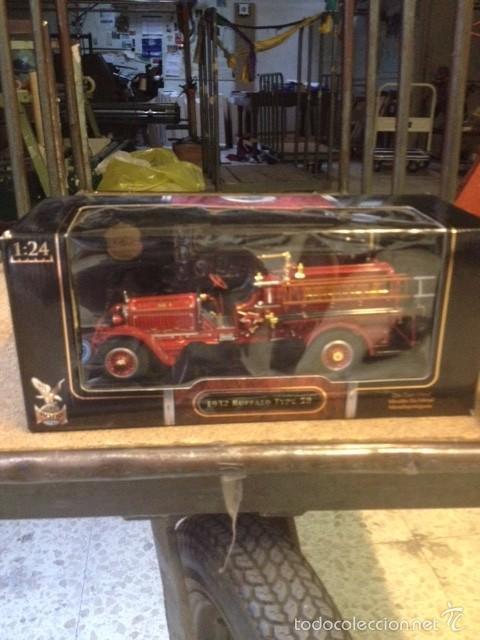 Hobbys: coche de bomberos buffalo type 50 de 1932 escala 1:24 - Foto 4 - 57474897