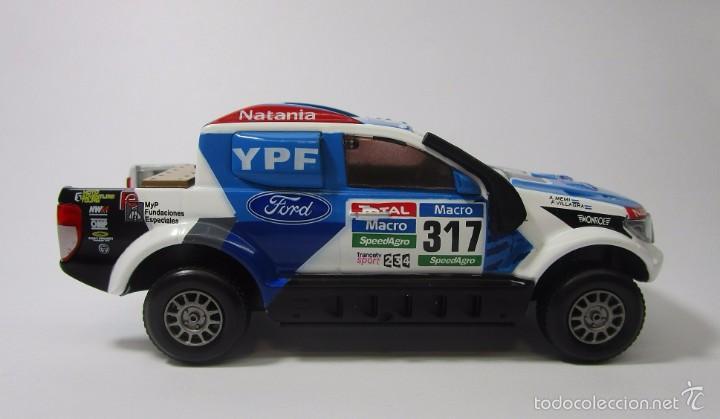 Hobbys: Camioneta Ford Ranger Dakar Escala 1/43 Coleccion Replica 11cm Largo Metalica - Foto 4 - 57877001