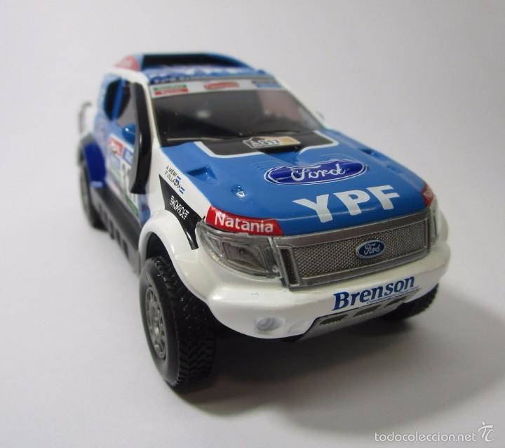 Hobbys: Camioneta Ford Ranger Dakar Escala 1/43 Coleccion Replica 11cm Largo Metalica - Foto 2 - 57877001