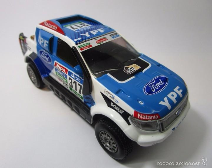 Hobbys: Camioneta Ford Ranger Dakar Escala 1/43 Coleccion Replica 11cm Largo Metalica - Foto 3 - 57877001