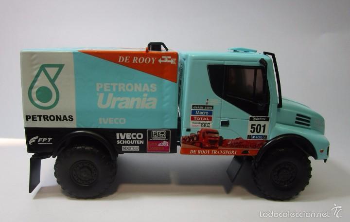 Hobbys: Camion Iveco Dakar Escala 1/43 Coleccion 16cm Largo Metalico - Foto 5 - 57877014