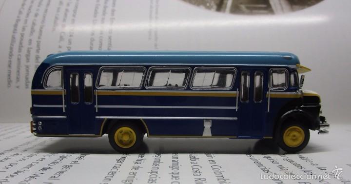 Hobbys: ANTIGUO AUTOBUS BUS BUSETA COLECTIVO MERCEDES ARGENTINA ESCALA 1/72 12CM COLECCION IXO LUPPA - Foto 5 - 57928272