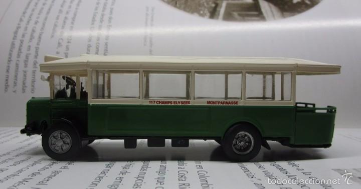 Hobbys: AUTOBUS BUS BUSETA PARIS ESCALA METALICO COLECCION / COLLECTION bus à lancienne IXO LUPPA - Foto 3 - 141664380