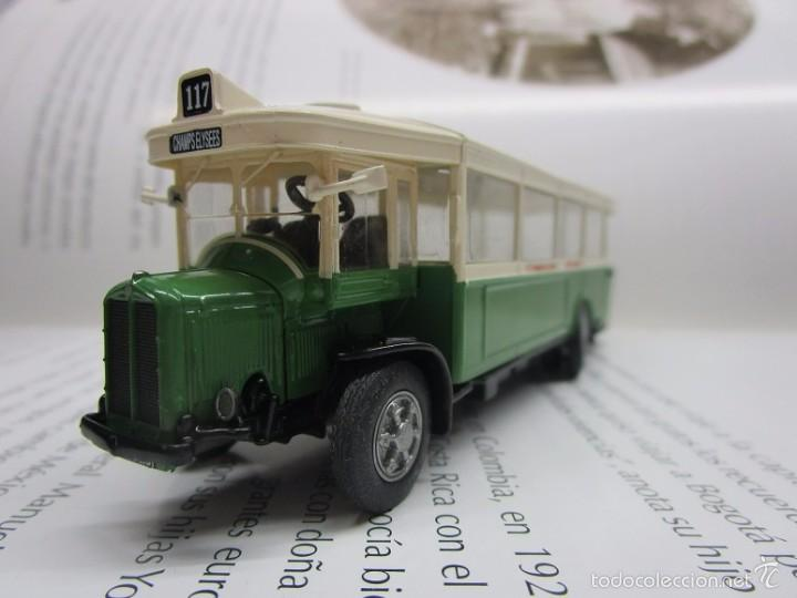 Hobbys: AUTOBUS BUS BUSETA PARIS ESCALA METALICO COLECCION / COLLECTION bus à lancienne IXO LUPPA - Foto 4 - 141664380