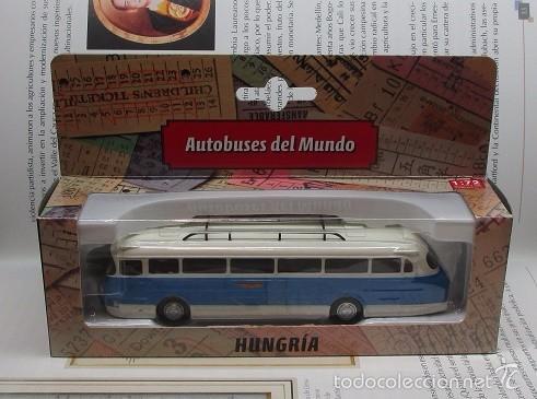 Hobbys: AUTOBUS BUS BUSETA HUNGRIA ESCALA DE COLECCION / GY?JTEMÉNY régi méret? busz IKARUS - Foto 6 - 57934220