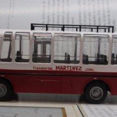 Hobbys: AUTOBUS BUS BUSETA COLECTIVO ECUADOR ESCALA 1/72 13CM LARGO METALICO COLECCION NUEVO IXO LUPPA. Lote 141664366