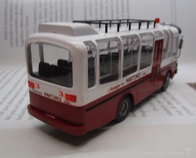 Hobbys: AUTOBUS BUS BUSETA COLECTIVO ECUADOR ESCALA 1/72 13CM LARGO METALICO COLECCION NUEVO IXO LUPPA - Foto 4 - 141664366