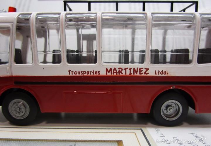 Hobbys: AUTOBUS BUS BUSETA COLECTIVO ECUADOR ESCALA 1/72 13CM LARGO METALICO COLECCION NUEVO IXO LUPPA - Foto 6 - 141664366