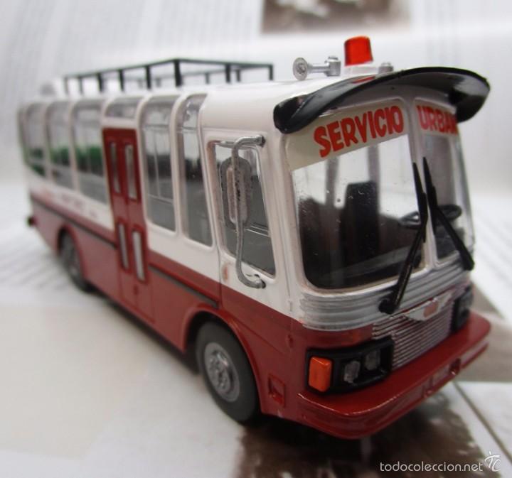 Hobbys: AUTOBUS BUS BUSETA COLECTIVO ECUADOR ESCALA 1/72 13CM LARGO METALICO COLECCION NUEVO IXO LUPPA - Foto 9 - 141664366