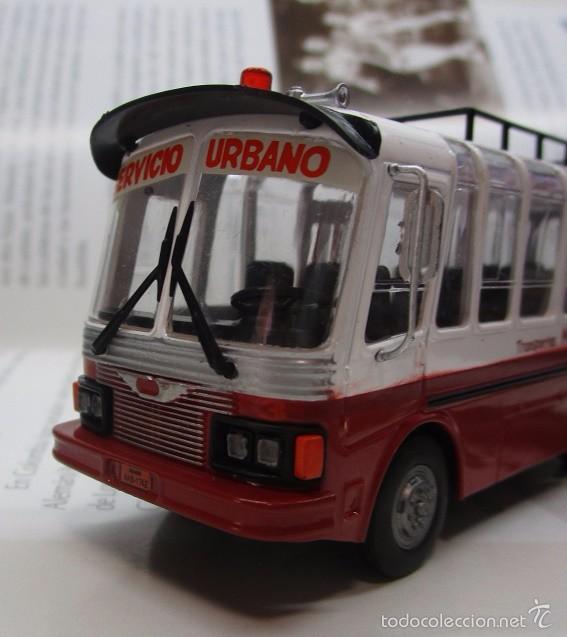 Hobbys: AUTOBUS BUS BUSETA COLECTIVO ECUADOR ESCALA 1/72 13CM LARGO METALICO COLECCION NUEVO IXO LUPPA - Foto 3 - 141664366
