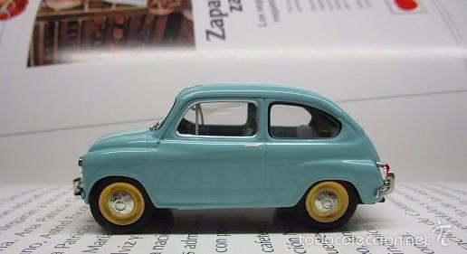 Hobbys: ZASTAVA FIAT 750 topolino ESCALA 1/43 METALICO COLECCION LUPPA 8CM LARGO. - Foto 4 - 57941603