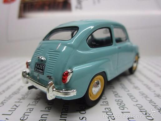 Hobbys: ZASTAVA FIAT 750 topolino ESCALA 1/43 METALICO COLECCION LUPPA 8CM LARGO. - Foto 2 - 57941603