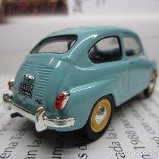 Hobbys: ZASTAVA FIAT 750 TOPOLINO ESCALA 1/43 METALICO COLECCION LUPPA 8CM LARGO.. Lote 57941603