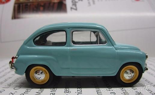 Hobbys: ZASTAVA FIAT 750 topolino ESCALA 1/43 METALICO COLECCION LUPPA 8CM LARGO. - Foto 5 - 57941603