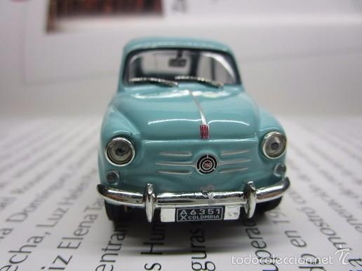 ZASTAVA FIAT 750 TOPOLINO ESCALA 1/43 METALICO COLECCION LUPPA 8CM LARGO. (Juguetes - Modelismo y Radiocontrol - Diecast)