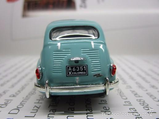 Hobbys: ZASTAVA FIAT 750 topolino ESCALA 1/43 METALICO COLECCION LUPPA 8CM LARGO. - Foto 6 - 57941603