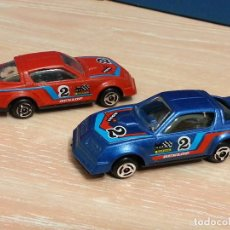 Hobbys: LOTE 2 X CHEVROLET CORVETTE RALLYE / RACING - GISIMA - MADE IN SPAIN - ESC. 1/64. Lote 73719295