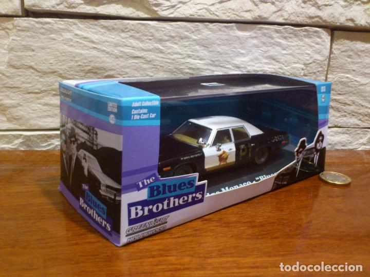 Hobbys: BLUES BROTHERS - GRANUJAS A TODO RITMO - DODGE MONACO 1974 - BLUESMOBILE - METAL - DIE CAST - NUEVO - Foto 2 - 74249115