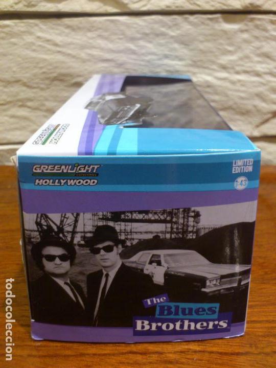 Hobbys: BLUES BROTHERS - GRANUJAS A TODO RITMO - DODGE MONACO 1974 - BLUESMOBILE - METAL - DIE CAST - NUEVO - Foto 6 - 74249115