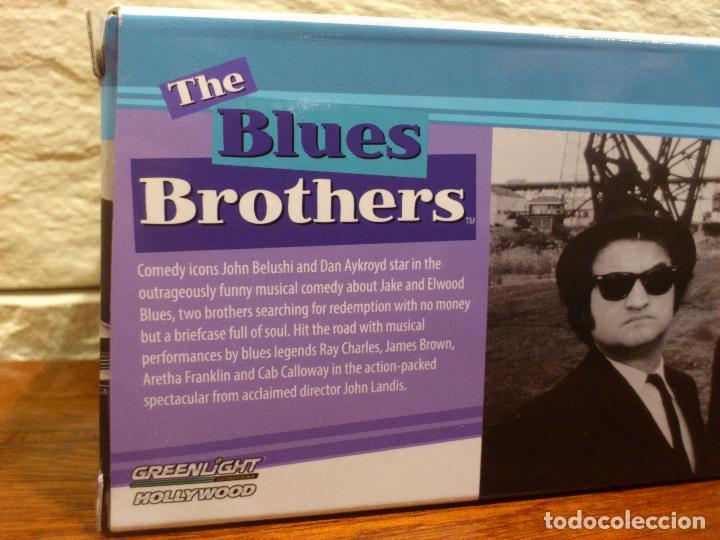 Hobbys: BLUES BROTHERS - GRANUJAS A TODO RITMO - DODGE MONACO 1974 - BLUESMOBILE - METAL - DIE CAST - NUEVO - Foto 8 - 74249115