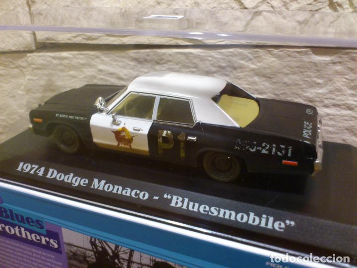 Hobbys: BLUES BROTHERS - GRANUJAS A TODO RITMO - DODGE MONACO 1974 - BLUESMOBILE - METAL - DIE CAST - NUEVO - Foto 21 - 74249115