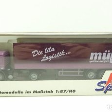 Hobbys: 1:87 CAMION HERPA. Lote 82219948