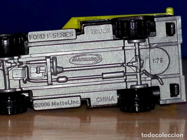 Hobbys: MATCHBOX - FORD F SERIES TRUCK - ESCALA 1/79 - 2000 MATTEL INC. - Foto 12 - 84883876