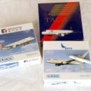 Hobbys: SCHABAK 1/600 • AIRBUS A330 / A321 / A320 (TAM - SATA - AIR MACAU AIRLINES) • ESCALA 1:600. Lote 95623567