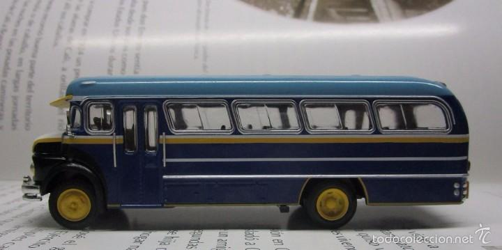 Hobbys: ANTIGUO AUTOBUS BUS BUSETA COLECTIVO MERCEDES ARGENTINA ESCALA 1/72 12CM COLECCION IXO LUPPA - Foto 3 - 57928272