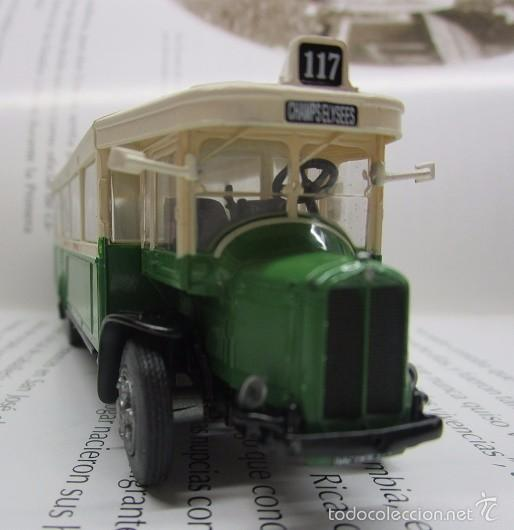 Hobbys: AUTOBUS BUS BUSETA PARIS ESCALA METALICO COLECCION / COLLECTION bus à lancienne IXO LUPPA - Foto 10 - 141664380