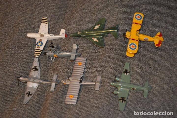 Hobbys: VINTAGE - LOTE DE 7 MODELOS DE AVIONES - PLAY ME - DIE CAST - ESTADO SEGÚN FOTOS - HAZ OFERTA - Foto 2 - 114830663