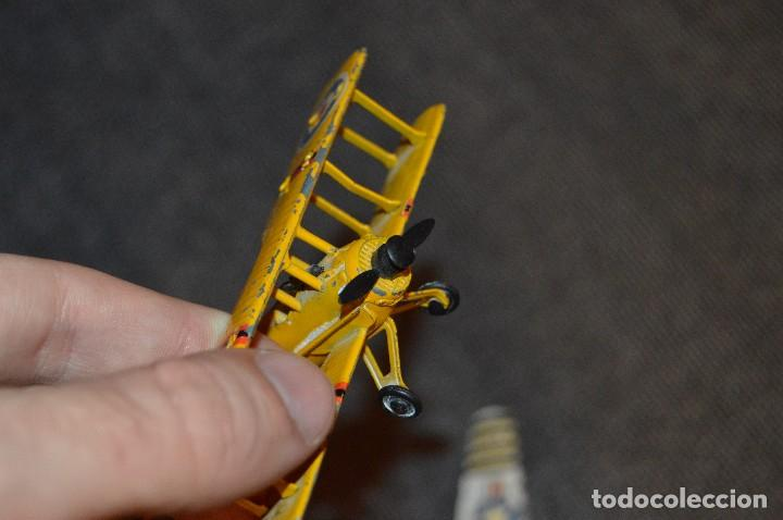Hobbys: VINTAGE - LOTE DE 7 MODELOS DE AVIONES - PLAY ME - DIE CAST - ESTADO SEGÚN FOTOS - HAZ OFERTA - Foto 20 - 114830663