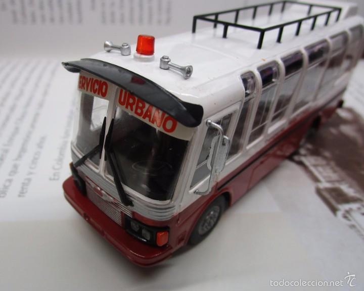 Hobbys: AUTOBUS BUS BUSETA COLECTIVO ECUADOR ESCALA 1/72 13CM LARGO METALICO COLECCION NUEVO IXO LUPPA - Foto 11 - 141664366