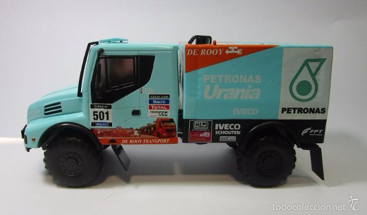 Hobbys: Camion Iveco Dakar Escala 1/43 Coleccion 16cm Largo Metalico - Foto 2 - 57877014
