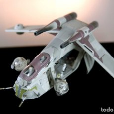 Hobbys: STAR WARS - CODE 3 REPUBLIC GUNSHIP (DIECAST METAL). Lote 52573595