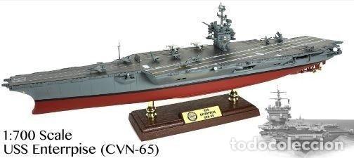 PORTAVIONES 1/700 USS ENTERPRISE USA (Juguetes - Modelismo y Radiocontrol - Diecast)